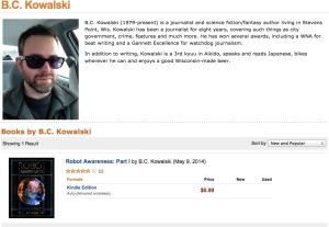 amazon, ebook, indie publishing, author page,