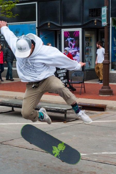 open streets, wausau, skateboarding